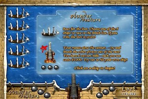 Screenshot of Pirates Plunder Slots