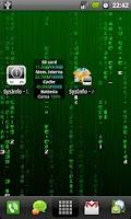 Screenshot of SysInfo Widget