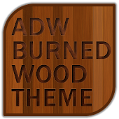 ADW Burned Wood Theme