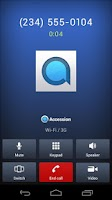 Screenshot of Accession Communicator