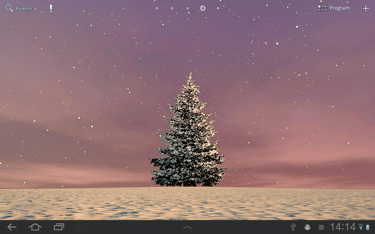 Winter Trees Free- screenshot