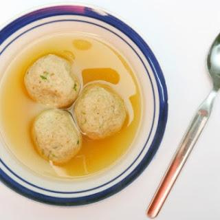 Passover Matzo Balls.