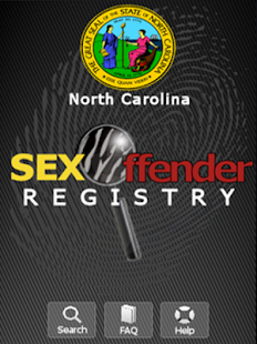 NC Sex Offender Registry - screenshot thumbnail