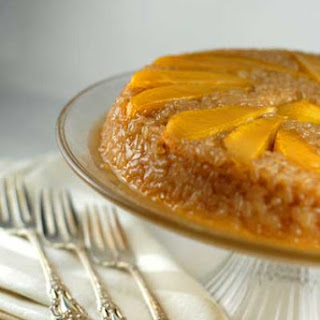 Gluten Free Sticky Rice Cake.