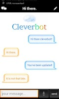 Screenshot of Cleverbot