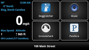 Screenshot of Car Dashboard Pro