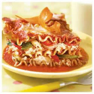 Veggie No Boiling Lasagna