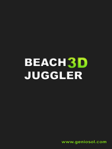 Beach Juggler 3D Super KickUps