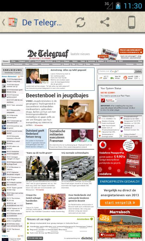 Nederland Kranten- screenshot