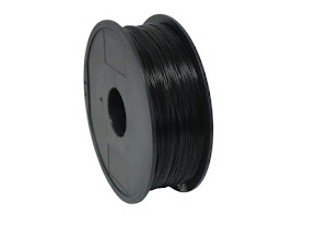 High Impact Polystyrene (HIPS) Dissolvable Black Filament - 3.00mm