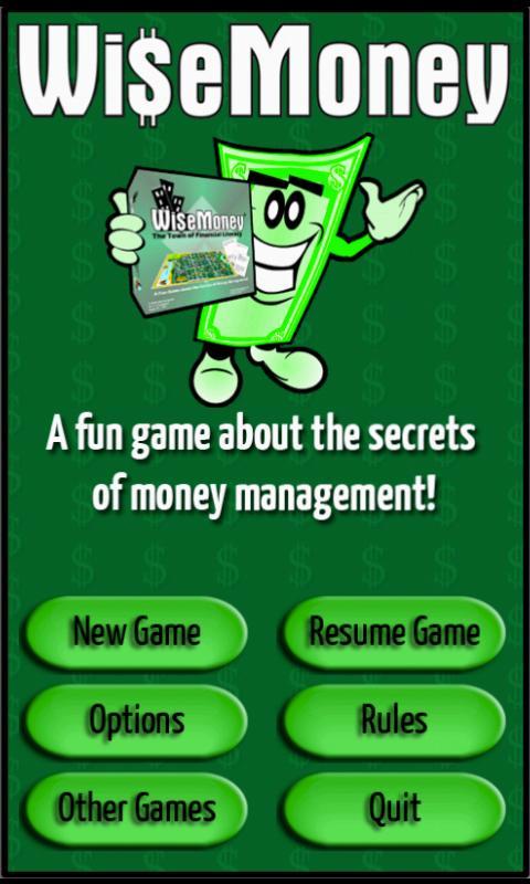 WiseMoney - screenshot