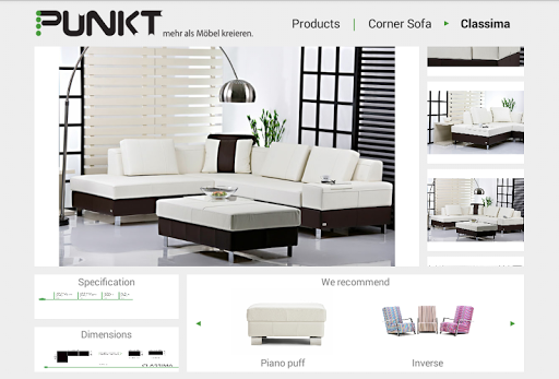 Punkt Furniture Catalog