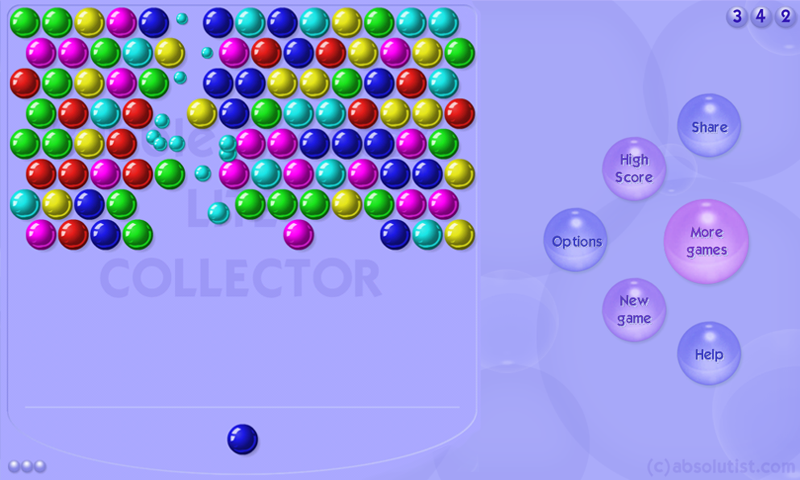 google bubble shooter games