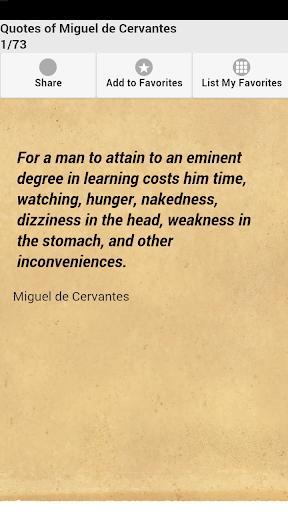Quotes of Miguel de Cervantes