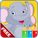 Kids Alphabet Coloring Book icon