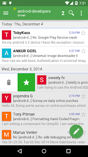 Aqua Mail - klient poczty - screenshot thumbnail