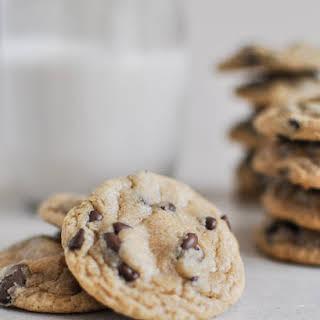 Mini Whole Wheat Chocolate Chip Cookies.
