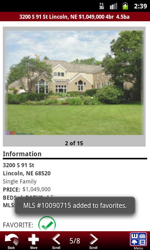 Woods Bros Realty - screenshot