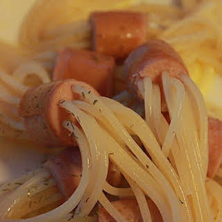 Pasta and Hot Dogs.
