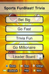 Sports FunBlast Trivia Quiz- screenshot thumbnail