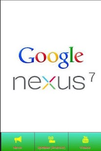 Nexus 7 News - screenshot thumbnail