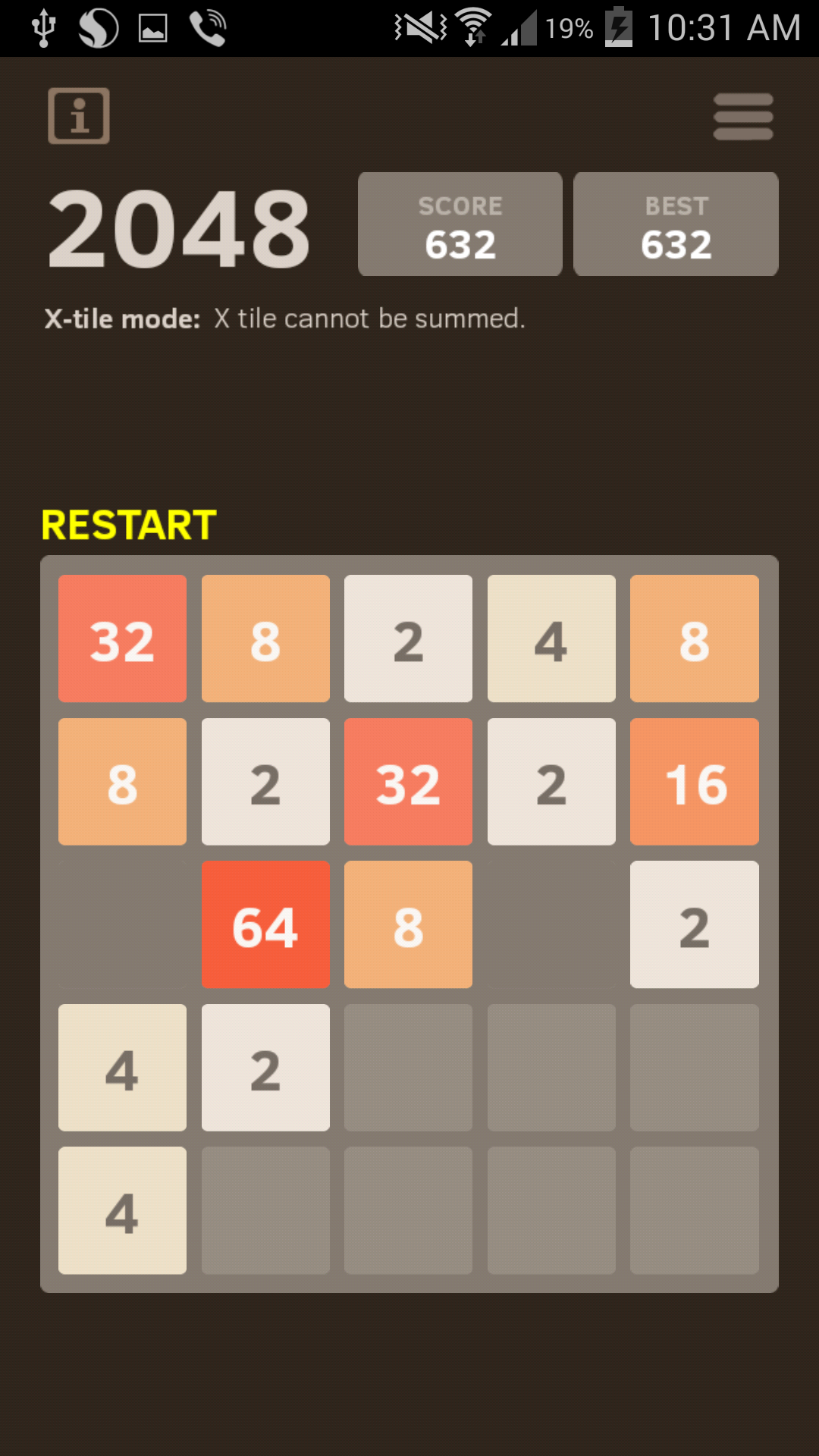 2048 Number puzzle game screenshot #5