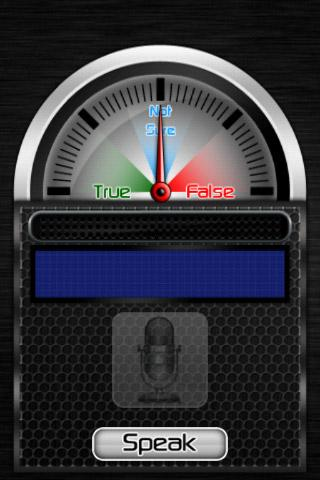 Lie Detector Meter - screenshot