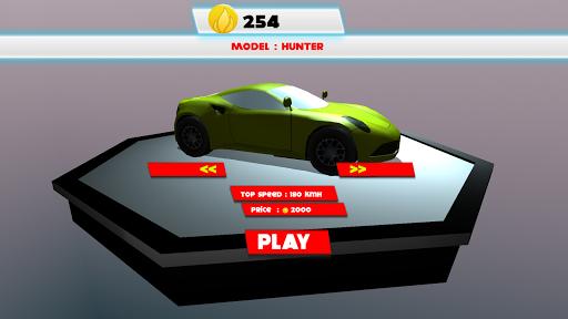 真的 汽車 賽車 3D