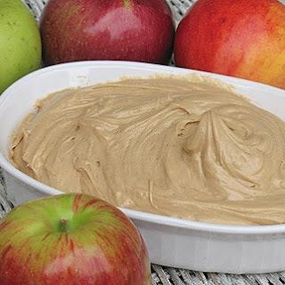 Peanut Butter Apple Dip.