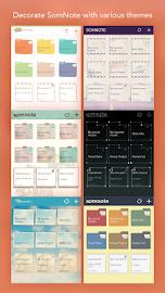 SomNote - Beautiful note app Screenshot 5