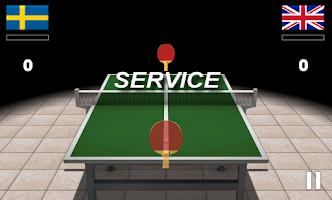 Screenshot of Virtual Table Tennis 3D Pro