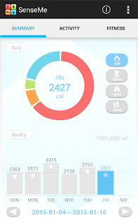 Pedometer + Fitness Tracker Fitness app screenshot for Android
