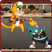 Angry Cats vs Hungry Zombies