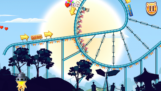 Nutty Fluffies Rollercoaster - screenshot thumbnail
