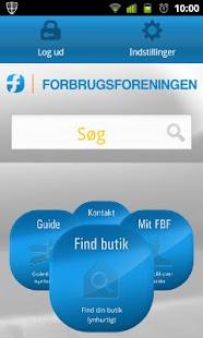Forbrugsforeningen - screenshot thumbnail