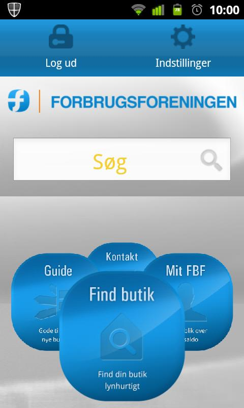 Forbrugsforeningen - screenshot