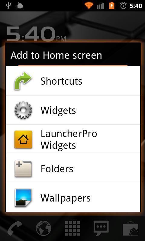 Basic Orange for CM7- screenshot