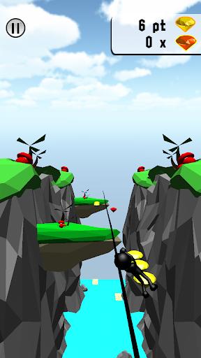 崖スライダー 3D