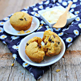 Raisin Corn Muffins.