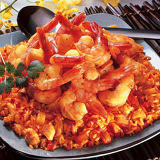 Rice With Shrimp & Pineapple.