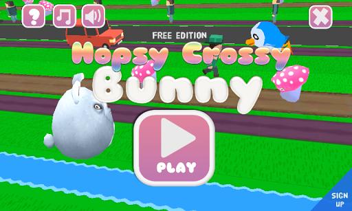Hopsy Crossy Bunny Free Easter