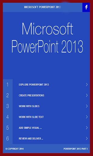 Learn PowerPoint 2013 tutorial