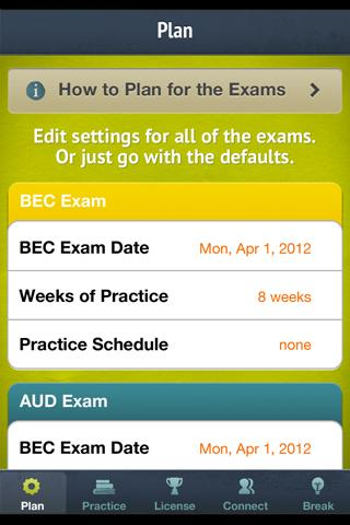 CPA Exam Aid - screenshot