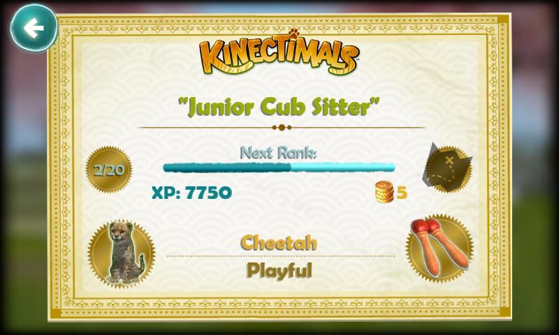 Kinectimals screenshot #3