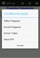 Screenshot of Biblia Sagrada Offline