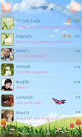 Screenshot of GO SMS PRO Spring SuperThemeEX