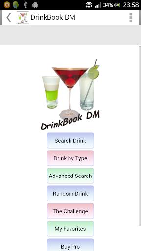 DrinkBook DM