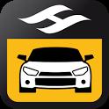 Tick Tack taxi icon