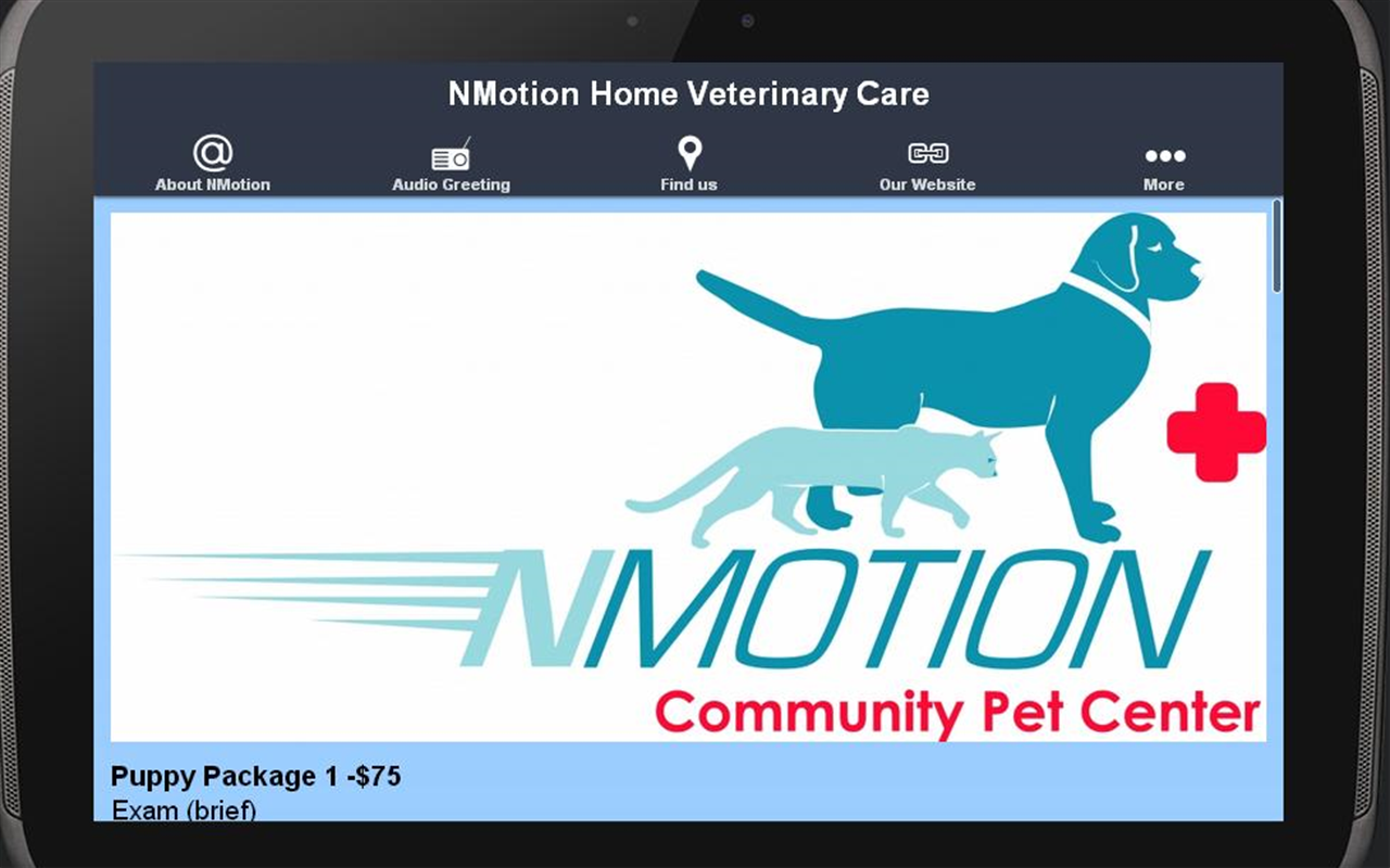 NMotion Home Veterinary Care- screenshot