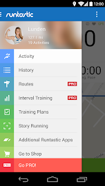 Runtastic Running & Fitness Screenshot 1
